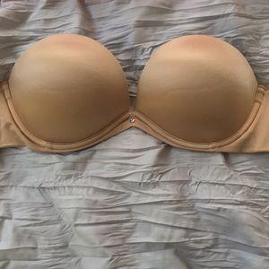 32 D strapless push up bra